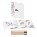 Zen Coloring Book Combo