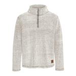 Initial Unisex Quarter-Zip Sweater